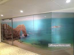 fg 1 single glazed frameless with special vinyl designs halo framed double glass doors office partition designs