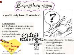 characteristics essay expository