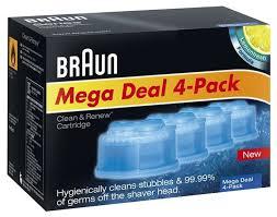 Купить <b>Картридж для бритв</b> Braun с чистящей жидкостью CCR4 ...