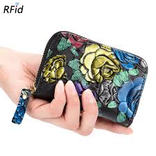 Fashion NFC Shielding Fraudulent Organ Wallet <b>Women's Multi</b> ...