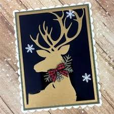 Online Shop Naifumodo <b>Deer</b> Dies Scrapbooking Metal Cutting <b>New</b> ...