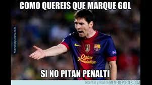 Afirman que Messi no juega bien porque se cuida para el Mund