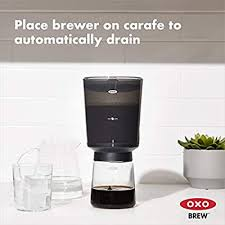 OXO BREW Compact Cold Brew Coffee Maker ... - Amazon.com