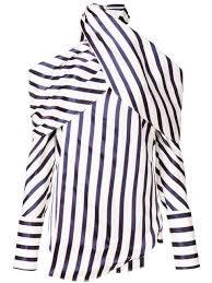 Monse <b>блузка в полоску с</b> открытыми плечами - Купить в ...