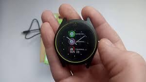 умные часы zdk v9 black green