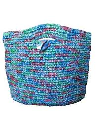 Image result for crochet recycled plastic bags