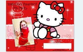 hello kitty 7th birthday invitations podpedia invitation you also like effective invitation posters