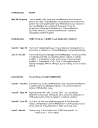 executive massage therapist resume template   page executive massage therapist resume page