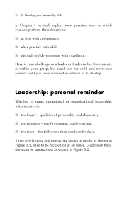 develop your leadership skill it simply means something that 33