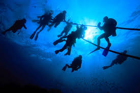 Image result for Scuba divers can not pass gas at: deeper than 33 feet.
