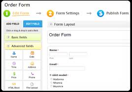 create online order forms that really sell  contactform create your order forms
