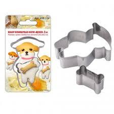 <b>Набор форм для печенья</b> Мультидом сталь см – купить по цене ...