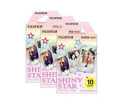<b>FUJIFILM</b> Instax Mini <b>Film</b> - <b>Shiny Star</b> (3-Pack) - Print & Storage