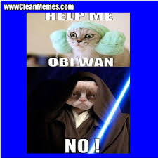 No Obi Wan Help | Clean Memes – The Best The Most Online via Relatably.com