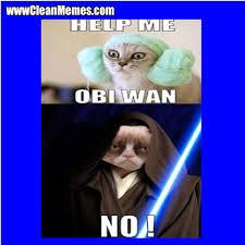 No Obi Wan Help   Clean Memes – The Best The Most Online via Relatably.com