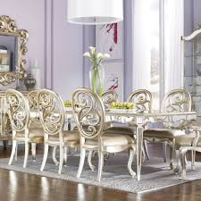 furniture  mirror dining room table   antique mirror leg dining table  drew grand isle piece dining