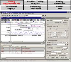timing diagrammer pro  timing diagram software   syncad comtiming diagrammer pro screen shot