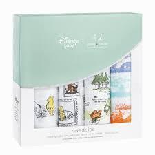 <b>Пеленки</b> для пеленания <b>aden</b>+<b>anais</b> Disney Swaddle 4 шт. Winnie ...