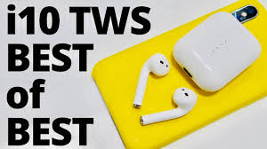 BEST Apple AirPods 2 Clone REVIEW - i10 <b>TWS</b> - Bluetooth ...
