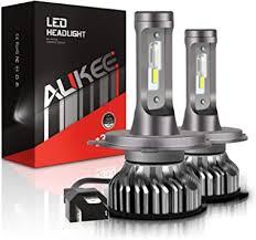 Aukee H4 LED Headlight Bulbs, 50W 6000K 10000 ... - Amazon.com