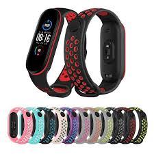 Silicone <b>Two</b>-<b>color</b> Anti-sweat Breathable Strap/Xiaomi Mi Sports ...