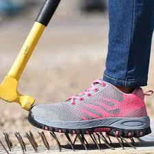 Buy <b>Steel Toe</b> Safety Shoes Women <b>Summer</b> Breathable <b>Mesh</b> ...