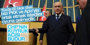 Bahçeli: Bizi PKK ve Öcalan'la ortak etmek istediler