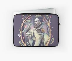 """The Dark <b>Crystal</b>"" <b>Laptop Sleeve</b> by valexn 