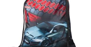 <b>Мешок для обуви ПИФАГОР</b> Серое авто, чёрная, 42*34 см - 226632