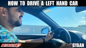 How To <b>Drive</b> A <b>Left Hand</b> Car? | Hindi | MotorOctane - YouTube