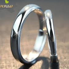 2019 <b>Flyleaf 925 Sterling Silver</b> Rings For Women Simple Couple ...
