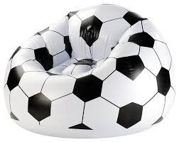 Купить <b>Надувное кресло Bestway</b> Beanless Soccer Ball Chair ...