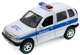 Купить <b>модель машины Welly Chevrolet</b> Niva ДПС 1:34, цены в ...