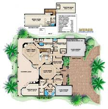 European House Plan  Belle Chase House Plan   Weber Design GroupBelle Chase Home Plan