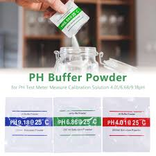 <b>3pcs</b>/<b>lot PH Buffer</b> Powder Measure Calibration Solution ph4.00 ...