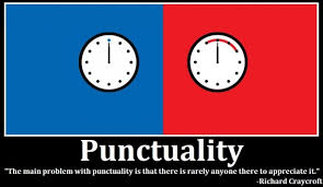 Punctuality Quotes Funny. QuotesGram via Relatably.com