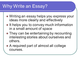 effective essay elements of writing an effective essay presentation provided by  why write an essay