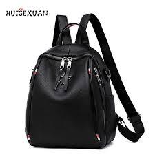 Fashion Women Backpack <b>High Quality 100</b>% Cowhide Backpacks ...