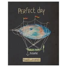 <b>Тетрадь</b> 48л кл А5 на скрепке <b>Kroyter</b> Mon Perfect day обл.картон ...