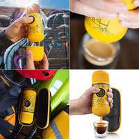 «<b>Портативная</b> ручная <b>кофеварка</b> Wacaco NanoPresso Yellow ...