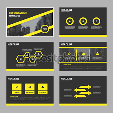 yellow black abstract presentation templates infographic elements yellow black abstract presentation templates infographic elements template flat design set for brochure flyer leaflet marketing advertising banner template