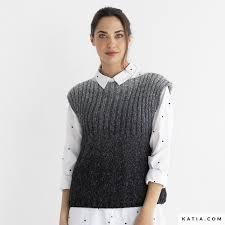 <b>Vest</b> - <b>Woman</b> - <b>Autumn</b> / <b>Winter</b> - models & patterns | Katia.com