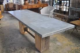 images zinc table top:  dining table large rectangular artisian zinc top dining table mecox gardens zinc top dining table