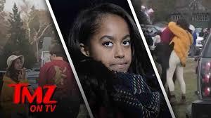 Malia Obama – Making Out And Smokin' Cigs! | TMZ TV - YouTube