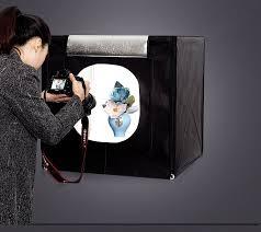 CY <b>70*70*70cm LED</b> Photo Studio Softbox <b>Light</b> Tent Soft Box ...
