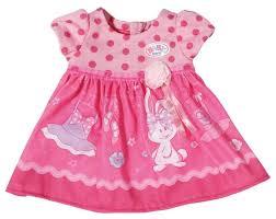<b>Zapf Creation Платье для</b> куклы Baby Born 822111 — купить по ...