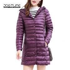 <b>JOGTUME Women's Down Jacket</b> with Hooded Autumn Winter ...