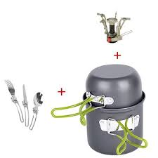 Buy <b>Outdoor</b> Camping <b>Cookware Set 1-2</b> Persons | Free Shipping ...