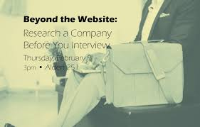 how to research a company before you interview business blog