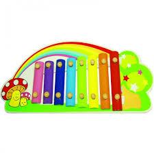 Музыкальные игрушки <b>QiQu Wooden</b> Toy Factory Ксилофон ...